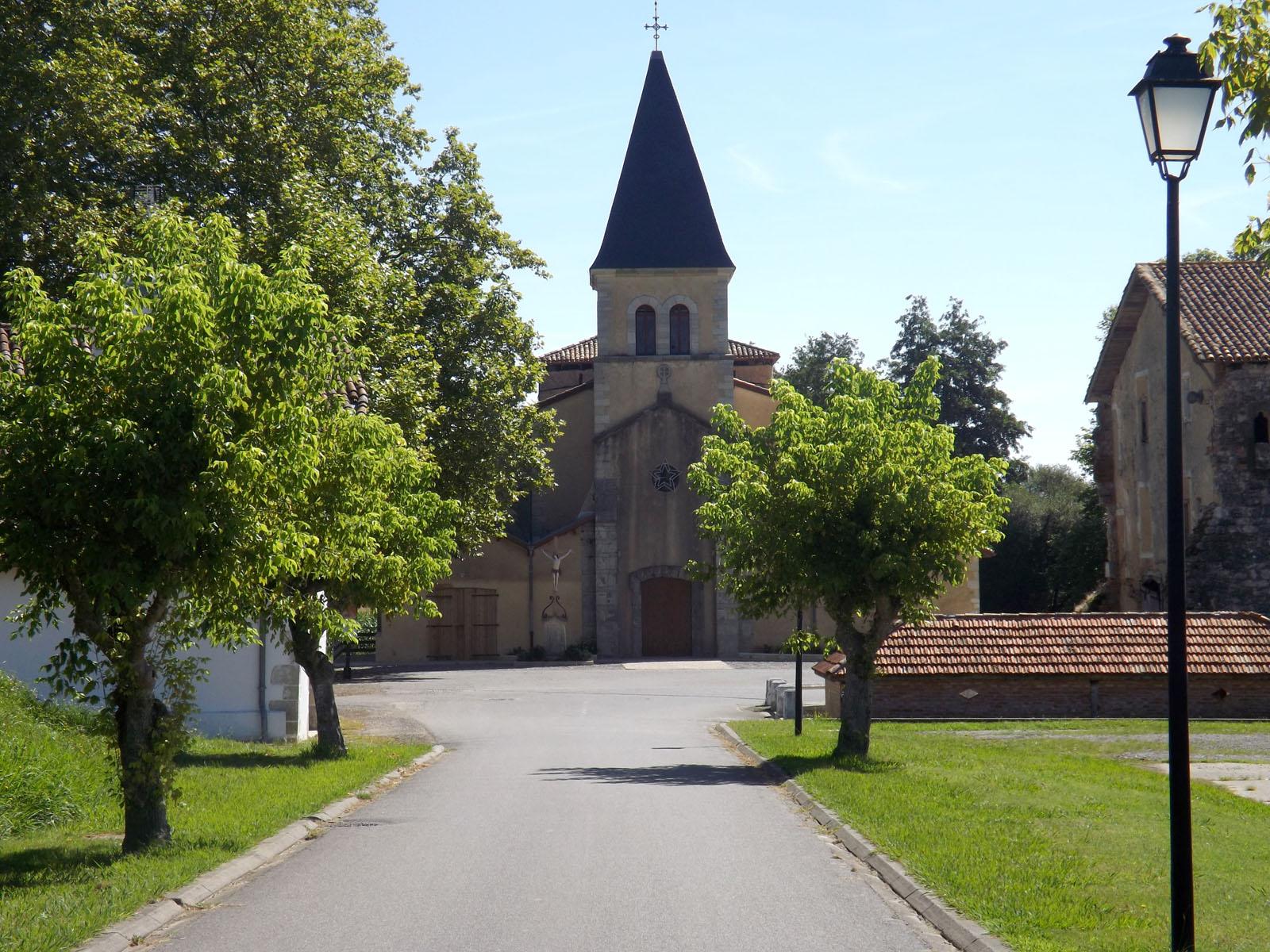 Eglise abbatiale de Cagnotte