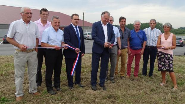 Inauguration du Parc d'activités Sud Landes