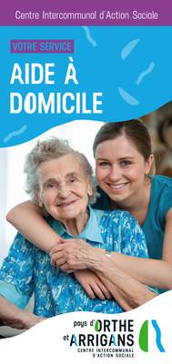 Brochure Aide à domicile CIAS Pays d'Orthe et Arrigans